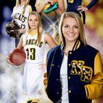 Multi sports banner composite for senior pictures Bo Studio 121