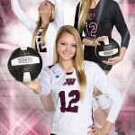 Volleyball composite senior pictures Bo Studio 121
