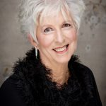 Women with professional hair and makeup celebrates her 80th birthday with professional portrait